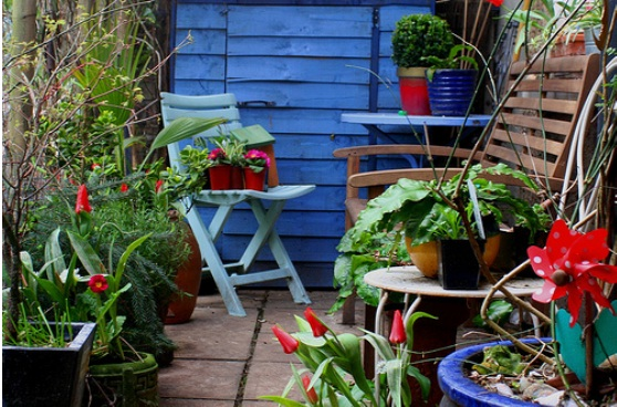 container garden 2 Urban garden inspiration