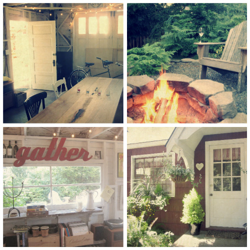 cottage collage Summer Supper Club