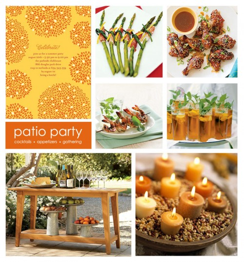 patio party small e1281486926496 Summer Supper Club