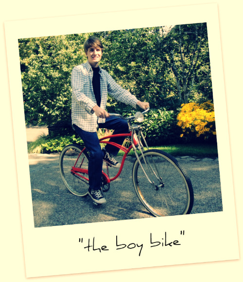 the boy bike My love affair with Schwinn