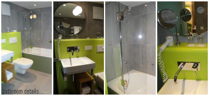 bathroom details Old & New   Arthotel in Salzburg
