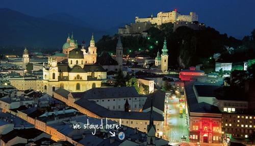 blaue gans Old & New   Arthotel in Salzburg