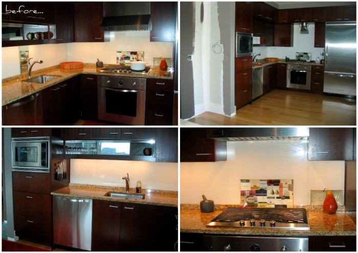 Picnik collage kitchen before e1288205612966 Small Kitchen Design by Julie DeJardin