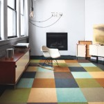 Small space : Big Impact with FLOR tiles