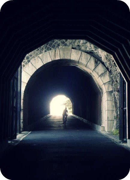 light at the end of the tunnel1 My birthday get away, from the Columbia Gorge to Luxembourg!