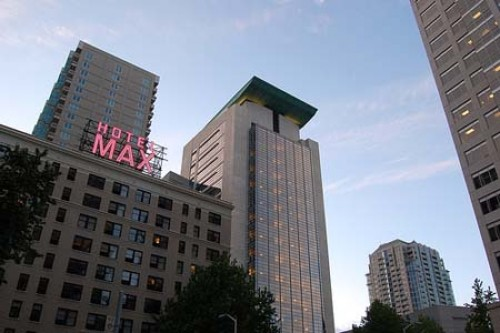 seattle hotel max e1306950801426 Seattle Weekend by Train