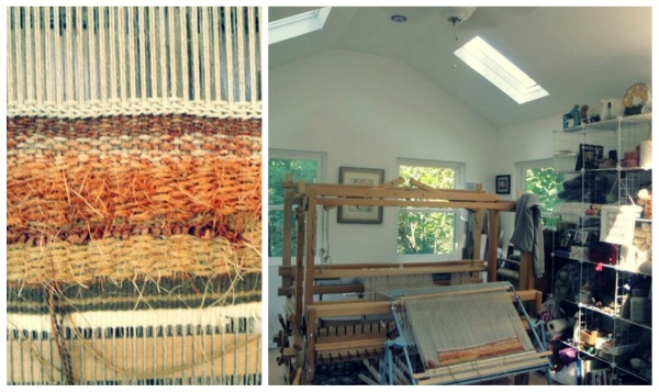 Picnik collage4 Building room for your hobbies : Weaving Studio
