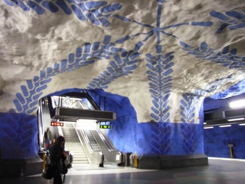 R0015026 e1320874043188 Subway Art: Stockholms underground museum