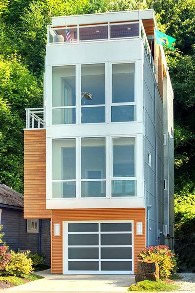 Seattle Narrow Escapes SS Skinny Homes around the World