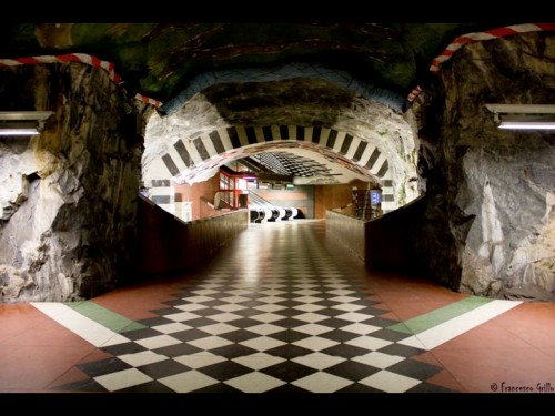 StockholmSubwayArt.010 e1320874077420 Subway Art: Stockholms underground museum