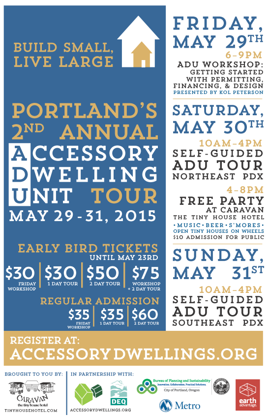 Join Portland's 2nd Annual ADU Tour!