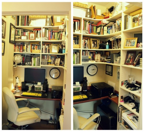 home office in a closet. Home Office Closet. Closet In A