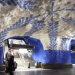 Subway Art: Stockholm's underground museum