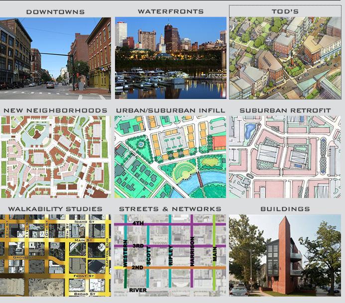 Transforming Urban Cores