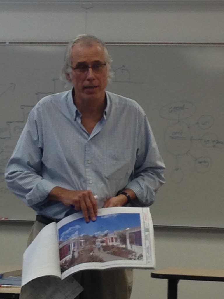 Architect Chuck Durrett