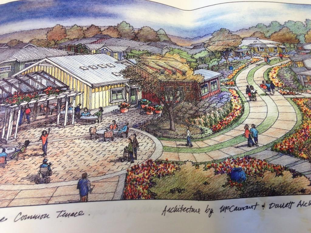 Rendering of Cohousing