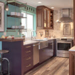 Creative Small Kitchen Remodel with Robin Rigby Fisher Design